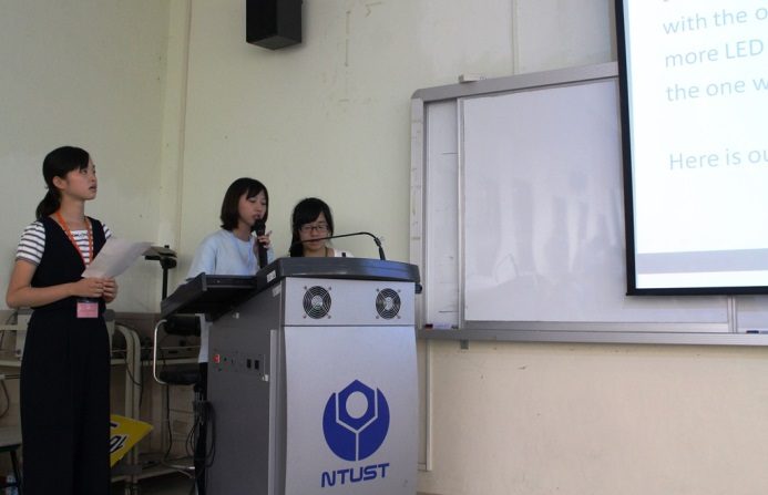 Students at the final presentation
